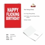 Hilarious Birthday Printed Greeting Card By Scott Nickel From NobleWorksCards.com - Flicking Wishes image 2