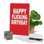Hilarious Birthday Printed Greeting Card By Scott Nickel From NobleWorksCards.com - Flicking Wishes image 6