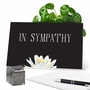 Beautiful Sympathy Greeting Card From NobleWorksCards.com - Floral Support - Condolences image 5