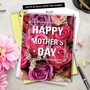 Stylish Mother's Day Jumbo Printed Greeting Card from NobleWorksCards.com - Flowers for Mom image 6