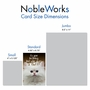 Hilarious Birthday Printed Greeting Card From NobleWorksCards.com - Fluffy Kitten image 5