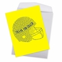 Stylish Thank You Jumbo Paper Greeting Card From NobleWorksCards.com - Football Helmet image 3