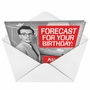 Hysterical Birthday Printed Card by Ephemera from NobleWorksCards.com - Forecast for Tonight image 2