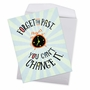 Funny Birthday Jumbo Paper Card From NobleWorksCards.com - Forget The Past image 3