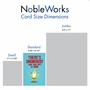 Stylish Retirement Card From NobleWorksCards.com - Friendly Garden Gnomes image 5