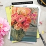 Stylish Mother's Day Jumbo Printed Greeting Card from NobleWorksCards.com - Full Blooms image 6
