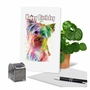 Creative Birthday Printed Card From NobleWorksCards.com - Funky Rainbow Dogs - Terrier image 6