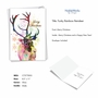 Creative Merry Christmas Greeting Card From NobleWorksCards.com - Funky Rainbow Reindeer - Profile image 2