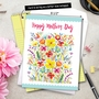 Stylish Mother's Day Jumbo Printed Greeting Card by Debbie Tomassi from NobleWorksCards.com - Garden Delights image 6