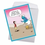 Humorous Birthday Jumbo Card By Maria Scrivan From NobleWorksCards.com - Genie Gift Card image 3