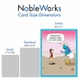 Humorous Birthday Jumbo Card By Maria Scrivan From NobleWorksCards.com - Genie Gift Card image 5