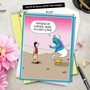 Humorous Birthday Jumbo Card By Maria Scrivan From NobleWorksCards.com - Genie Gift Card image 6