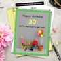 Hysterical Milestone Birthday Jumbo Greeting Card By Thea Musselwhite From NobleWorksCards.com - Get Real 30 image 6