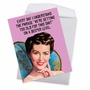 Hysterical Birthday Jumbo Printed Card By Sarah Berryman From NobleWorksCards.com - Getting Too Old image 3