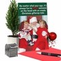 Funny Merry Christmas Card From NobleWorksCards.com - Giftwrap Tube image 5