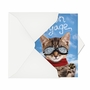 Funny Bon Voyage Paper Card From NobleWorksCards.com - Goodbye Cat image 2