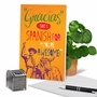 Funny Thank You Paper Greeting Card From NobleWorksCards.com - Gracias Your Awesome image 6