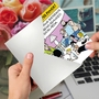 Hilarious Belated Birthday Printed Greeting Card By Mark Parisi From NobleWorksCards.com - Grandma's Superpower image 2
