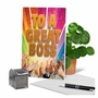 Humorous Boss's Day Paper Greeting Card From NobleWorksCards.com - Great Boss image 6