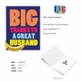 Funny Thank You Jumbo Paper Greeting Card From NobleWorksCards.com - Great Husband image 2
