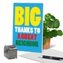 Hysterical Thank You Printed Card From NobleWorksCards.com - Great Neighbor image 6