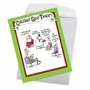 Humorous Merry Christmas Jumbo Card By Glenn McCoy From NobleWorksCards.com - Group Therapy image 2