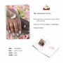 Hilarious Wedding Congratulations Printed Greeting Card From NobleWorksCards.com - Hands And Cat Paw - People of Color image 2