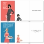 Humorous Birthday Paper Card By Bluntcard From NobleWorksCards.com - Happy and Blunt image 3