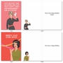 Humorous Birthday Paper Card By Bluntcard From NobleWorksCards.com - Happy and Blunt image 4