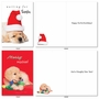 Hilarious Merry Christmas Greeting Card By Kelly Richardson From NobleWorksCards.com - Happy Howlidays image 1