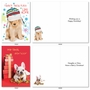Hilarious Merry Christmas Greeting Card By Kelly Richardson From NobleWorksCards.com - Happy Howlidays image 2