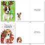 Hilarious Merry Christmas Greeting Card By Kelly Richardson From NobleWorksCards.com - Happy Howlidays image 4