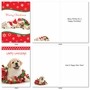 Hilarious Merry Christmas Greeting Card By Kelly Richardson From NobleWorksCards.com - Happy Howlidays image 5