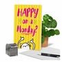 Hilarious Retirement Greeting Card From NobleWorksCards.com - Happy Monday image 6
