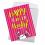 Funny Retirement Jumbo Paper Card From NobleWorksCards.com - Happy Monday image 3