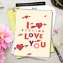 Humorous Valentine's Day Jumbo Card By Offensive+Delightful From NobleWorksCards.com - Heart and Arrow image 6