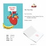 Hilarious Valentine's Day Jumbo Printed Card From NobleWorksCards.com - Heart Map image 2