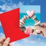 Humorous Valentine's Day Paper Greeting Card By Michael Quackenbush From NobleWorksCards.com - Heart Rock image 3
