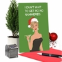 Funny Merry Christmas Paper Card By Bluntcard From NobleWorksCards.com - Ho Ho Hammered image 6