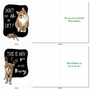 Hysterical Merry Christmas Greeting Card By Christine Anderson From NobleWorksCards.com - Holiday Cat Antics image 4