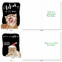 Hysterical Merry Christmas Greeting Card By Christine Anderson From NobleWorksCards.com - Holiday Cat Antics image 5