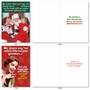 Funny Merry Christmas Paper Card By Assorted Artists From NobleWorksCards.com - Holiday Laughs image 1