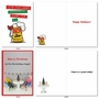 Funny Merry Christmas Paper Card By Assorted Artists From NobleWorksCards.com - Holiday Laughs image 3