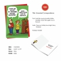 Humorous Merry Christmas Card By Susan Camilleri Konar From NobleWorksCards.com - Holiday Newsletter image 2