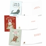 Humorous Merry Christmas Paper Greeting Card By Ashley Spires From NobleWorksCards.com - Holiday Yoganimals image 3
