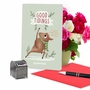Funny Merry Christmas Card By Ashley Spires From NobleWorksCards.com - Holiday Yoganimals-Deer image 5
