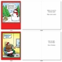 Hysterical Merry Christmas Printed Card By Randall McIlwaine From NobleWorksCards.com - Holly Jolly Rice Cakes image 3
