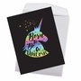 Creative Birthday Jumbo Greeting Card From NobleWorksCards.com - Horns and Unicorns - Born To Be image 2