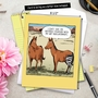 Funny Get Well Jumbo Printed Greeting Card by Dave Coverly from NobleWorksCards.com - Horse Hip Replacement image 6