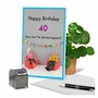 Funny Milestone Birthday Card By Thea Musselwhite From NobleWorksCards.com - How Did 40 Happen image 6
